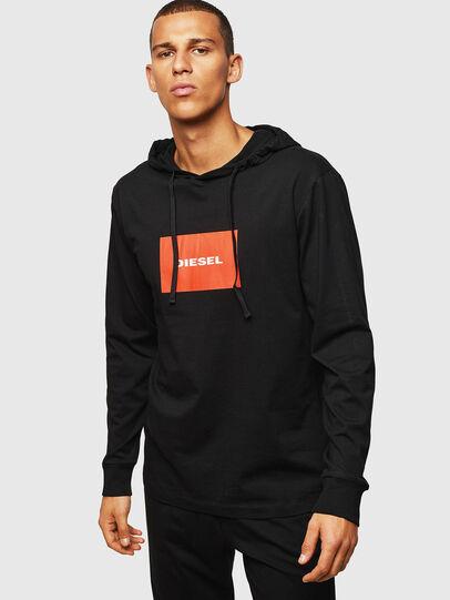Diesel - UMLT-JIMMY, Negro - Camisetas - Image 1