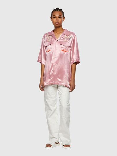 Diesel - S-MITCH, Rosa - Camisas - Image 8