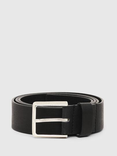 Diesel - B-PRINT, Negro - Cinturones - Image 1