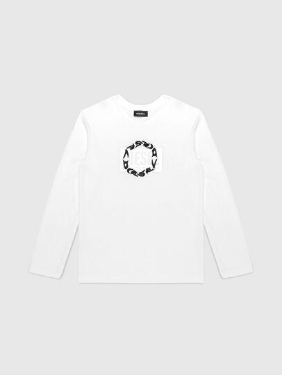 Diesel - TSILYRSUC ML, Blanco - Camisetas y Tops - Image 1