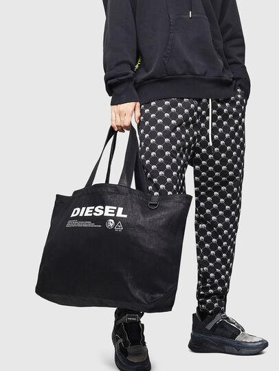 Diesel - D-THISBAG SHOPPER L, Negro - Bolsos Shopper y Al Hombro - Image 6