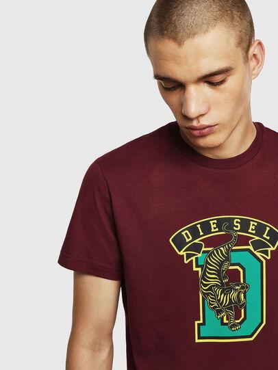 Diesel - T-DIEGO-B4, Burdeos - Camisetas - Image 3