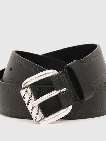 Diesel - B-FULCOPY, Negro - Cinturones - Image 2