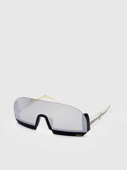 Diesel - DL0336, Blanco - Gafas de sol - Image 2