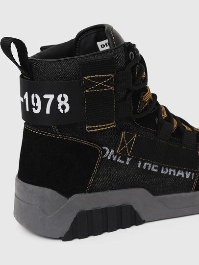 Diesel - S-RUA MID SP, Negro - Sneakers - Image 5