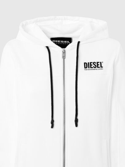 Diesel - UFLT-VICTORIAL-HZ, Blanco - Sudaderas - Image 3
