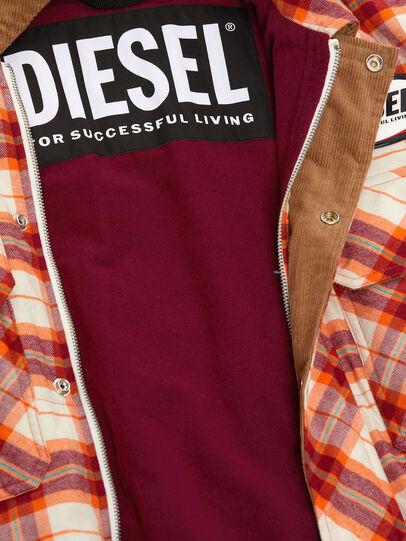 Diesel - J-TANIFER, Rojo/Blanco - Chaquetas - Image 5