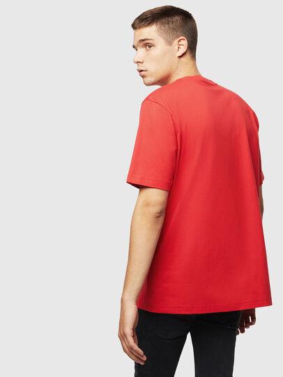 Diesel - T-JUST-J5, Rojo - Camisetas - Image 2