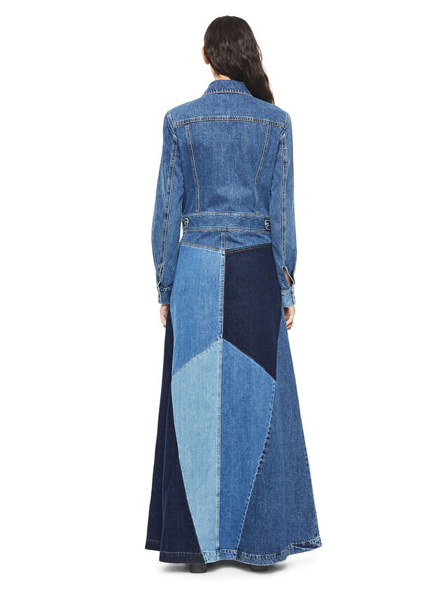 Diesel - DINAP, Blue Jeans - Vestidos - Image 2