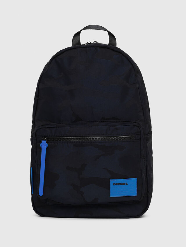 Diesel - F-DISCOVER BACK, Azul - Mochilas - Image 1