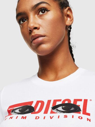 Diesel - T-SILY-YD, Blanco - Camisetas - Image 3