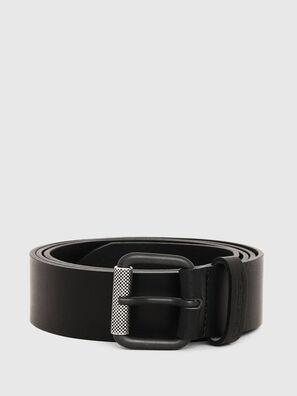 B-PLATE, Negro - Cinturones