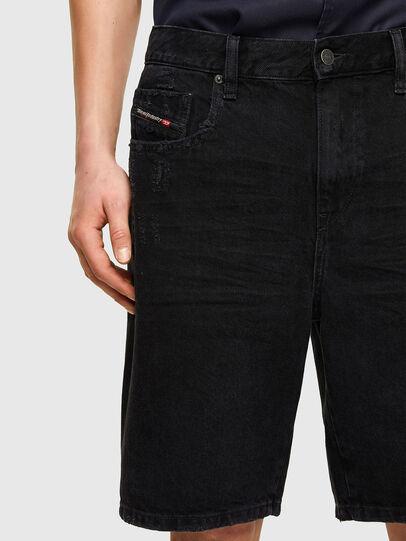 Diesel - D-STRUKT-SHORT, Negro/Gris oscuro - Shorts - Image 3