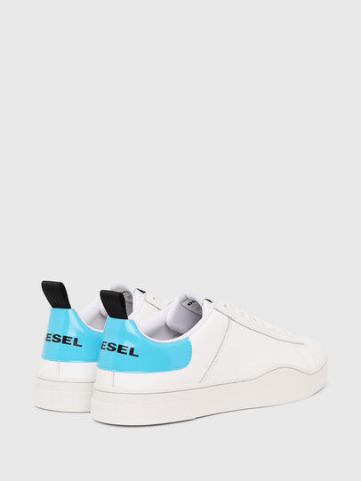 Diesel - S-CLEVER LOW LACE, Blanco/Azul - Sneakers - Image 3