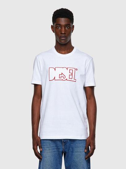 Diesel - T-DIEGOS-B8, Rojo/Blanco - Camisetas - Image 1