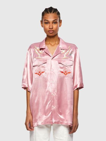 Diesel - S-MITCH, Rosa - Camisas - Image 2
