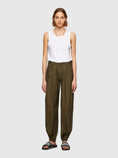 Diesel - P-JO-A, Verde Militar - Pantalones - Image 5