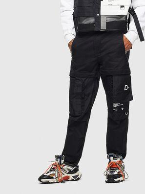 P-MELTY, Negro - Pantalones