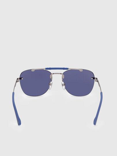 Diesel - DL0340, Azul - Gafas de sol - Image 4