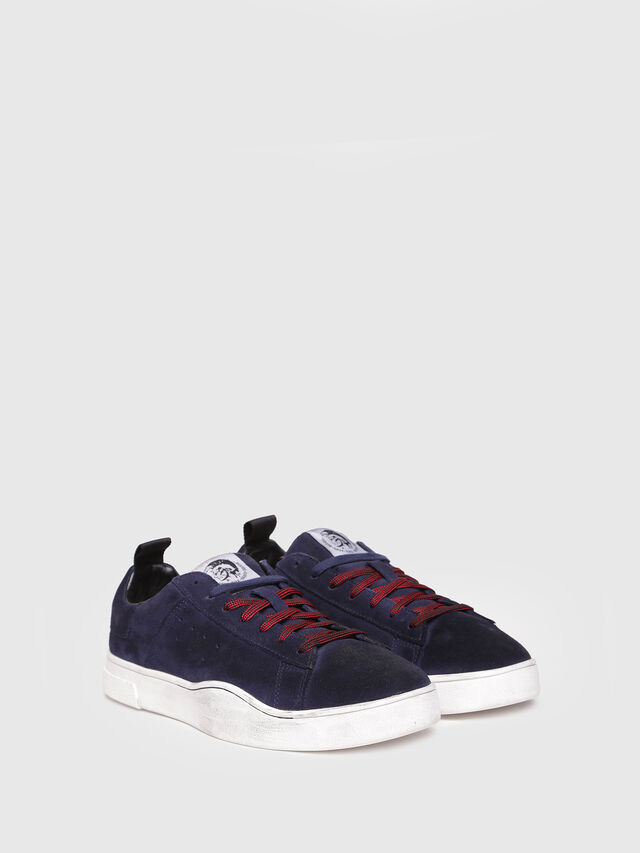 Diesel - S-CLEVER LOW, Azul Oscuro - Sneakers - Image 2