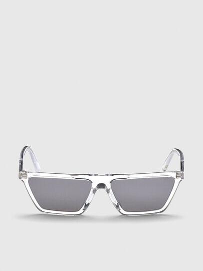 Diesel - DL0304, Blanco - Gafas de sol - Image 1