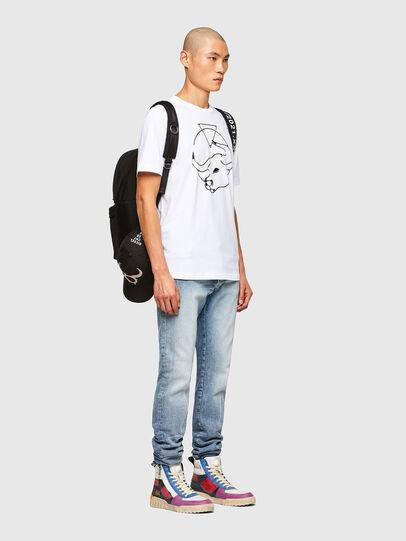Diesel - CL-T-JUST-O, Blanco - Camisetas - Image 7