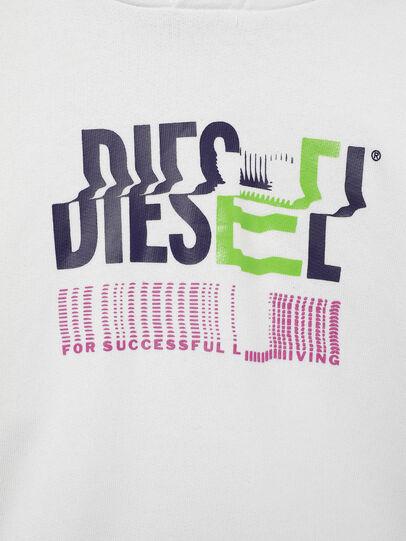 Diesel - SANGHOODKLIV, Blanco - Sudaderas - Image 3