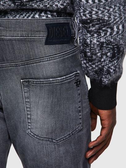 Diesel - D-Strukt JoggJeans® 009QT, Negro/Gris oscuro - Vaqueros - Image 3