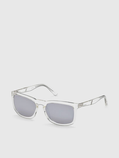Diesel - DL0262, Blanco - Gafas de sol - Image 2