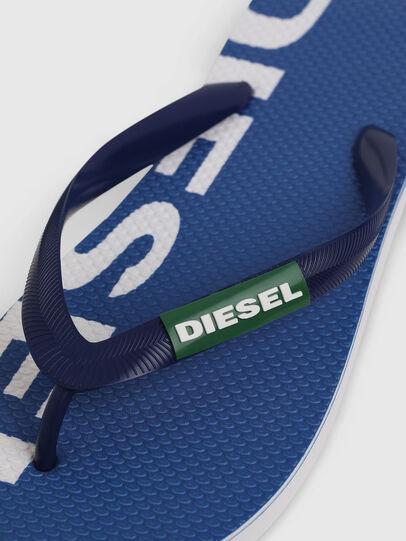 Diesel - SA-BRIIAN, Azul/Blanco - Chanclas - Image 3