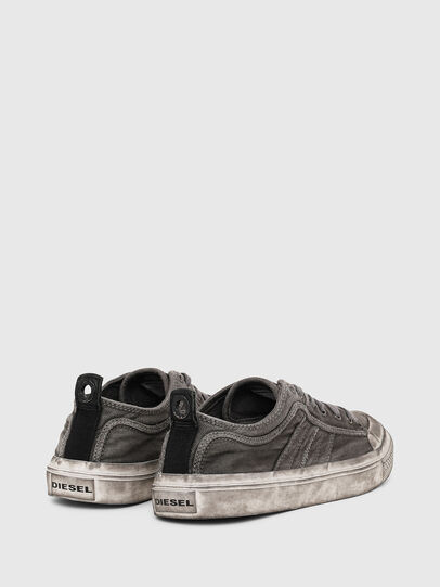 Diesel - S-ASTICO LOW LACE, Gris oscuro - Sneakers - Image 3