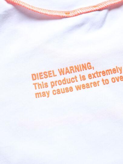 Diesel - TJUSEAM, Blanco - Camisetas y Tops - Image 3