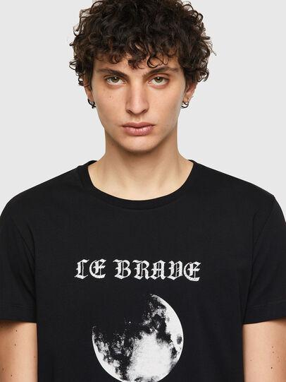 Diesel - T-INY-B1, Negro - Camisetas - Image 3