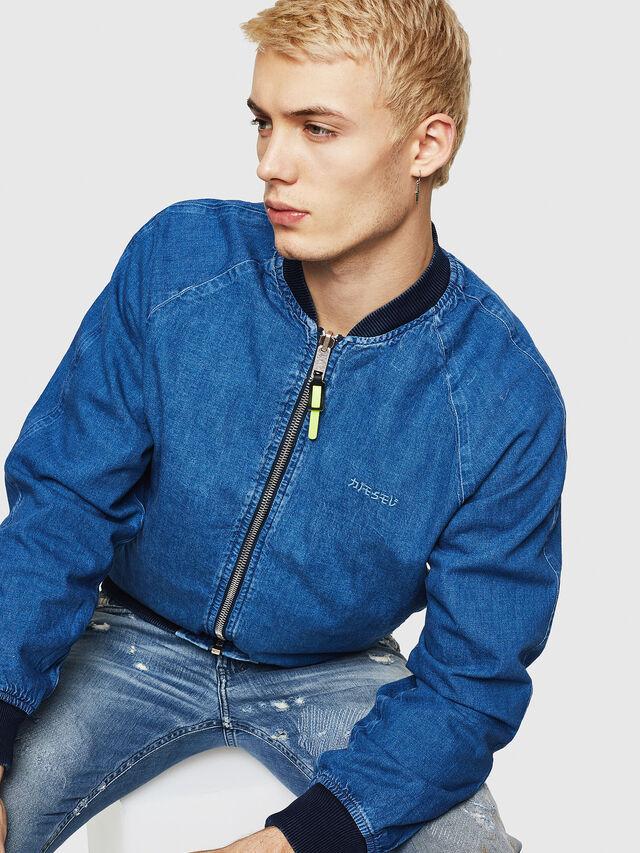 Diesel - D-BAK, Blue Jeans - Chaquetas de denim - Image 5