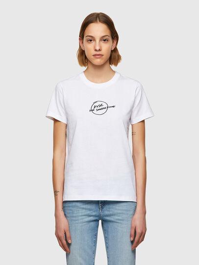 Diesel - T-SILY-B8, Blanco - Camisetas - Image 1