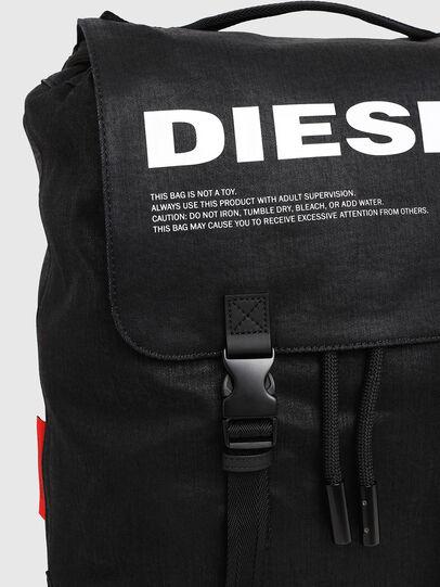 Diesel - VOLPAGO BACK, Negro - Mochilas - Image 4