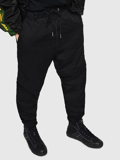 Diesel - P-CASHORT, Negro - Pantalones - Image 1