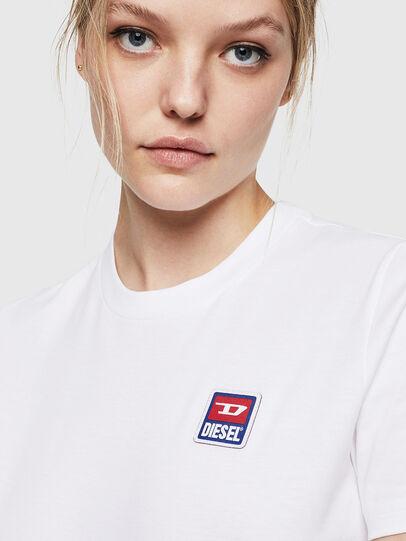 Diesel - T-SILY-ZE, Blanco - Camisetas - Image 3