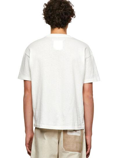 Diesel - DxD-20, Blanco - Camisetas - Image 2