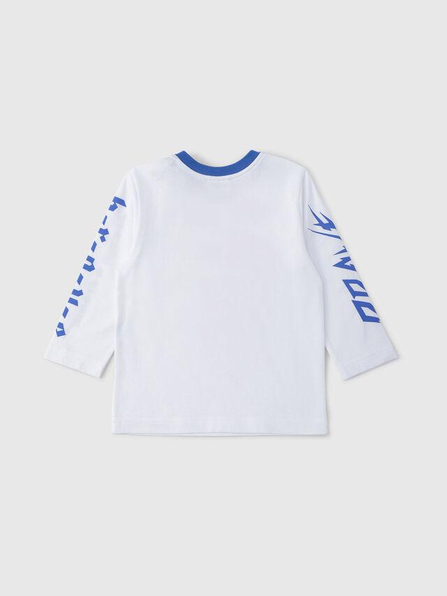 Diesel - TENNUB, Blanco/Rojo/Azul - Camisetas y Tops - Image 2