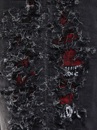 Diesel - Krooley JoggJeans 069RA, Negro/Gris oscuro - Vaqueros - Image 4