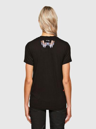 Diesel - T-SILY-R7, Negro - Camisetas - Image 2