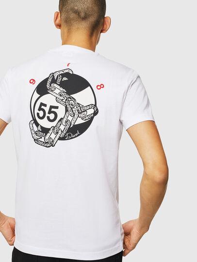 Diesel - T-DIEGO-J16, Blanco - Camisetas - Image 2