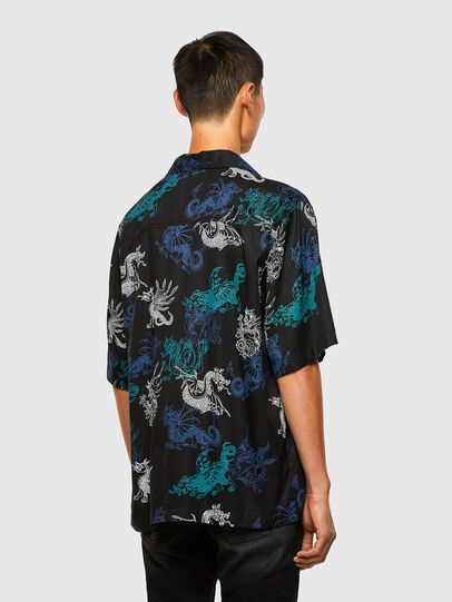 Diesel - S-BEACH, Negro - Camisas - Image 2