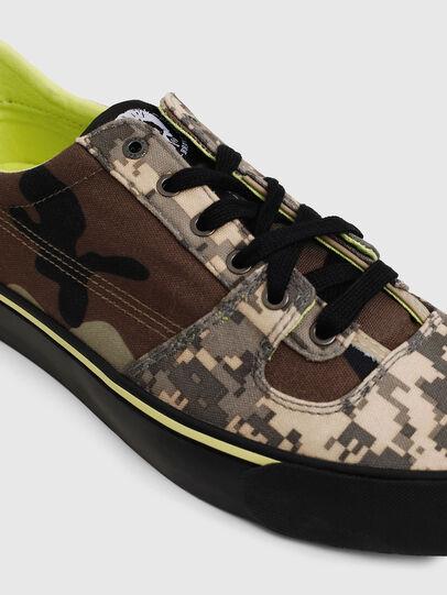 Diesel - S-FLIP LOW, Marrón militar - Sneakers - Image 4