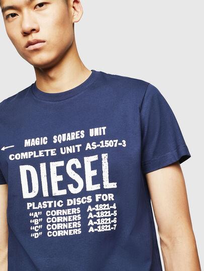Diesel - T-DIEGO-B6, Azul - Camisetas - Image 3
