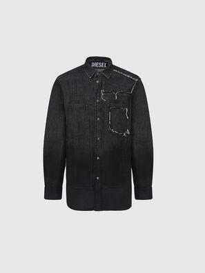 D-NESKY, Negro - Camisas de Denim