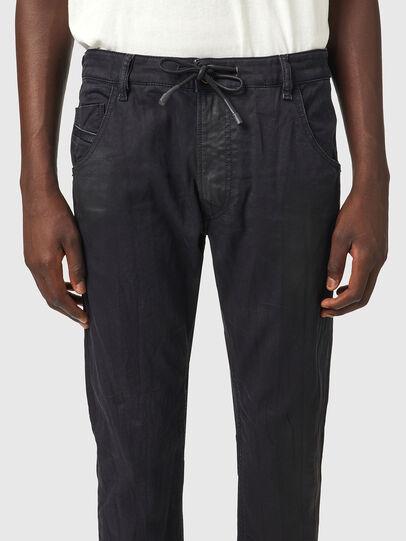 Diesel - Krooley JoggJeans® 069WW, Negro/Gris oscuro - Vaqueros - Image 3