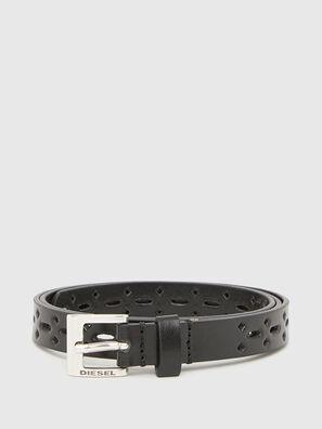 B-TIROL, Negro - Cinturones