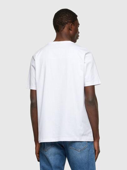 Diesel - T-JUST-A34, Blanco - Camisetas - Image 2